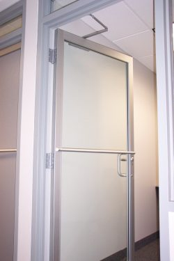 business glass doors