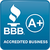 BBB A+ Accredited Logo