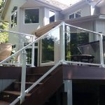 home deck railing